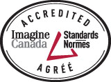 "Accredited by Imagine <span class=""part2"">Canada</span>"